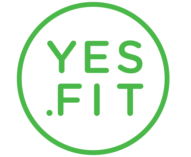 Yes.Fit Header Logo